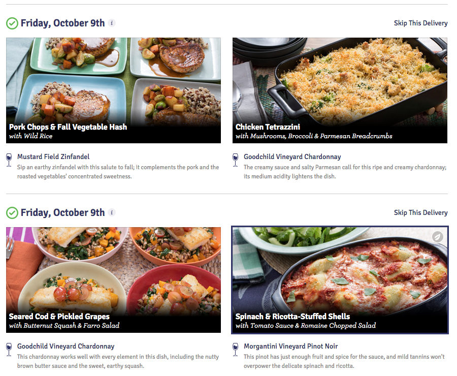 Blue Apron Review delivery