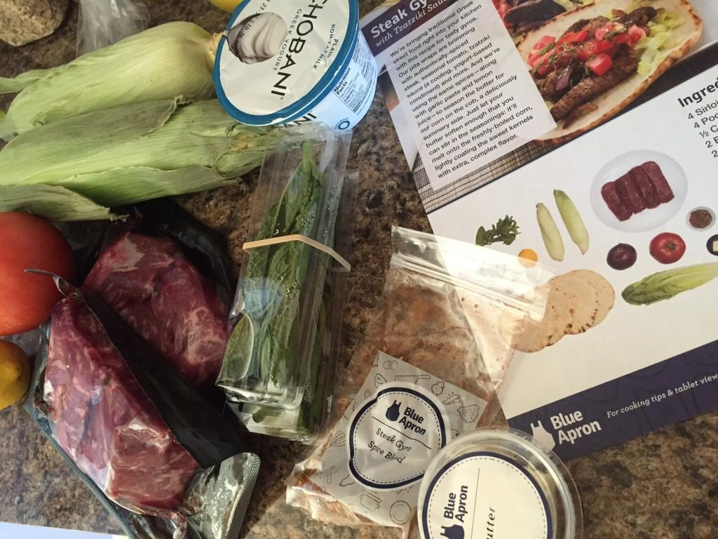 Blue Apron Review recipe