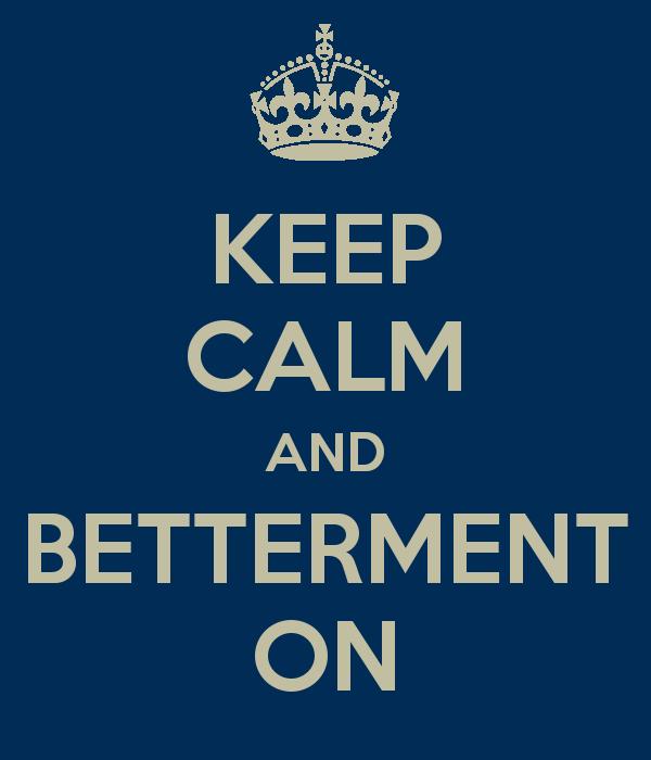 Keep Calm Stock Market Volatility