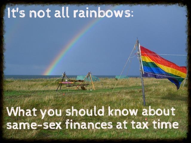 Same-sex finances