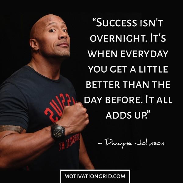 Success-isnt-overnight-Dwayne-Johnson-quote