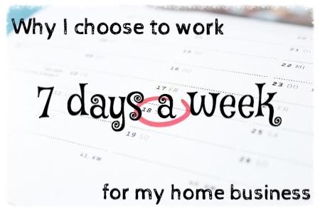 work seven days a week