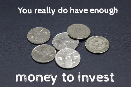find money to start investing