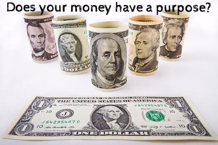 give money a purpose