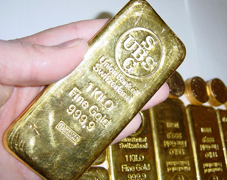 Gold Bullion Bar Based on Purity