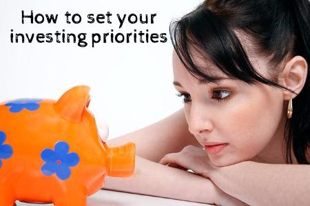 investing priorities