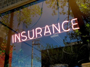 Neon Insurance Office Sign