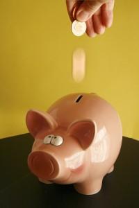 Piggy savings bank