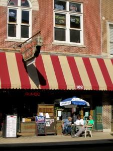 Storefront, cafe exterior