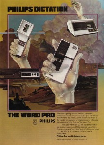 Vintage Ad #1,476: Philips Dictation